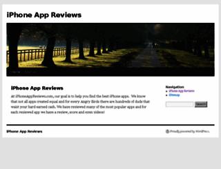 iphoneappreviews.com screenshot