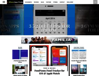 iphoneappsfinder.com screenshot