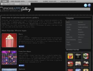 iphoneappsgallery.com screenshot