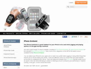 iphonearmband.co.uk screenshot