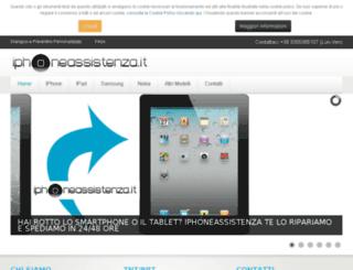 iphoneassistenza.it screenshot
