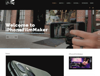 iphonefilmmaker.com screenshot