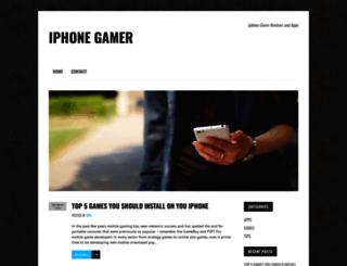iphonegameruk.co.uk screenshot