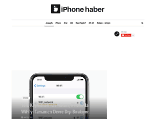 iphonehaber.net screenshot