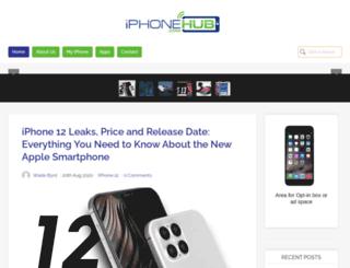 iphonehub.com screenshot