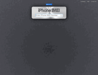 iphoneimei.info screenshot
