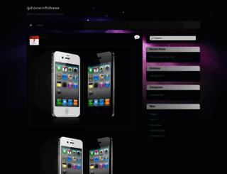 iphoneinfobase.wordpress.com screenshot