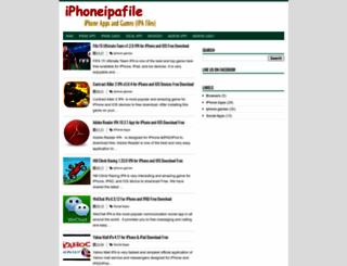 iphoneipafile.blogspot.com screenshot