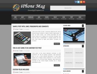 iphonemag-btemplates4u.blogspot.com screenshot