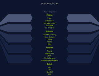 iphonemob.net screenshot