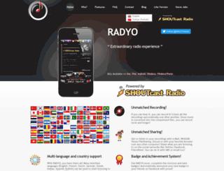 iphoneradyo.com screenshot