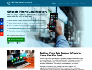 iphonerecovery.com screenshot