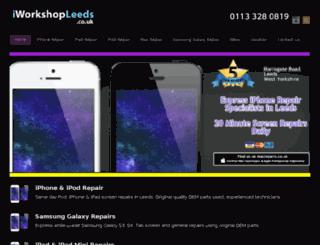 iphonerepairsleeds.co.uk screenshot