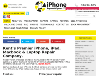 iphonerepairsltd.co.uk screenshot
