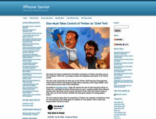 iphonesavior.com screenshot
