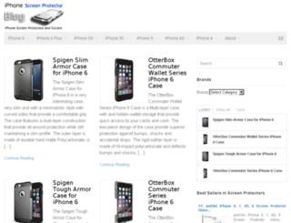 iphonescreenprotectorblog.com screenshot