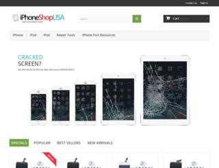 iphoneshopusa.com screenshot