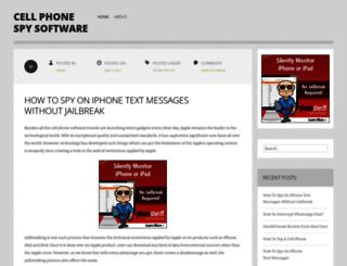 iphonetrackeronline.wordpress.com screenshot