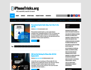 iphonetricks.org screenshot