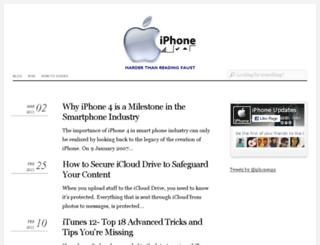 iphoneups.com screenshot