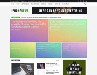 iphonews.com screenshot
