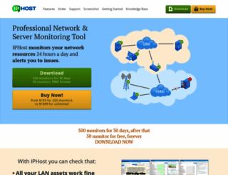 iphostmonitor.com screenshot