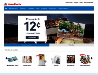 iphoto.jeancoutu.com screenshot