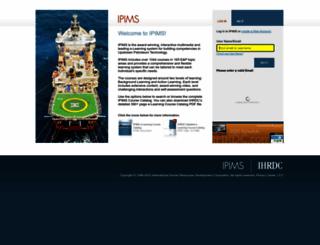 ipims.com screenshot
