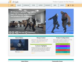 ipisoft.com screenshot