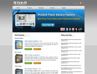 ipixsoft.com screenshot
