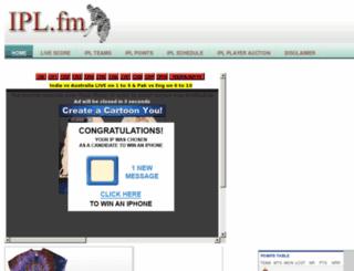 ipl.fm screenshot