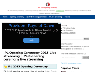 ipl2015openingceremony.com screenshot