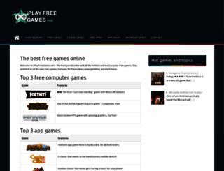 iplayfreegames.net screenshot