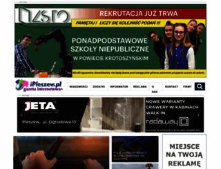 ipleszew.pl screenshot
