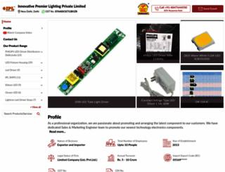 ipllighting.com screenshot
