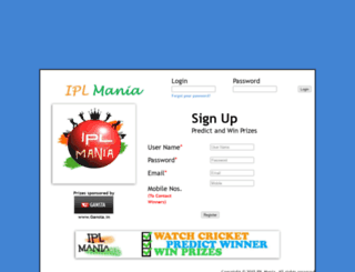 iplmania.in screenshot