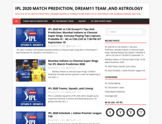 ipltodaymatchprediction.com screenshot