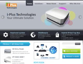 iplustech.com screenshot