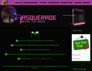 ipmasquerade.com screenshot