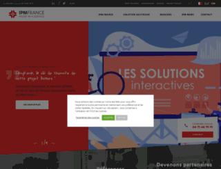 ipmfrance.fr screenshot