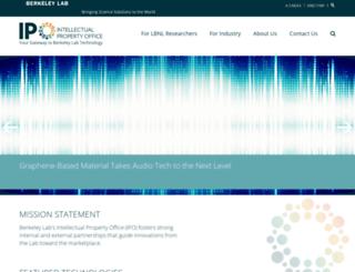 ipo.lbl.gov screenshot