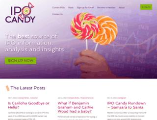 ipocandy.com screenshot