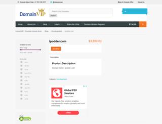 ipodder.com screenshot