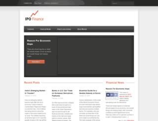 ipofinance.net screenshot