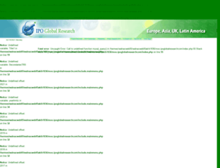 ipoglobalresearch.com screenshot