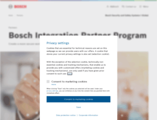 ipp.boschsecurity.com screenshot