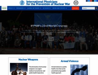 ippnw.org screenshot