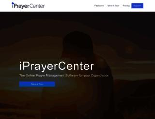 iprayercenter.com screenshot