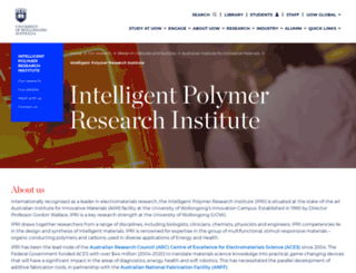 ipri.uow.edu.au screenshot