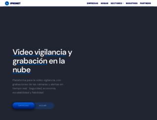 ipronet.es screenshot